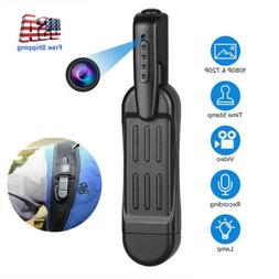 1080P HD Pocket Pen Camera Hidden Mini Body Cam Wireless Vid