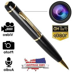1080P HD Pocket Pen Camera Hidden Spy Mini Portable Body Cam