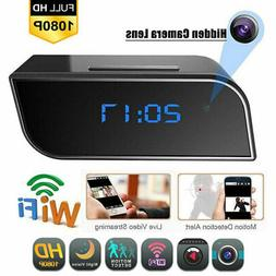 1080P WiFi Camera Clock Security Video Recorder DVR Motion N