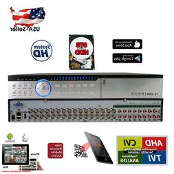 32 Channel H264 H265 DVR with 8TB Professional Security Came