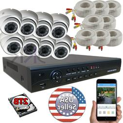 Sikker 8 Channel 1080P DVR Recorder Security Camera System w