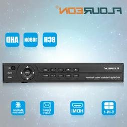 FLOUREON 8 Channel 1080P 1080N Home CCTV Security Video Reco