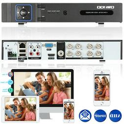8channel 1080p 5in1 ahd nvr dvr recorder