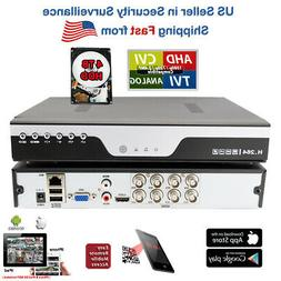 Evertech 8 Channel 1080P AHD Analog High Definition Real Tim