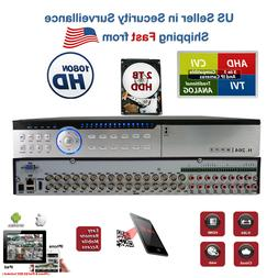 EVERTECH H.264 1080N 32 Channel Standalone Security Video Re