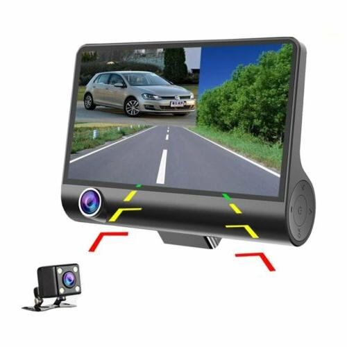 1080P Dual Lens HD Car DVR Video Dash Camera