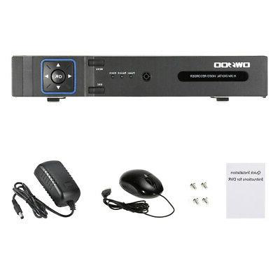 OWSOO 4CH 1080P Video System