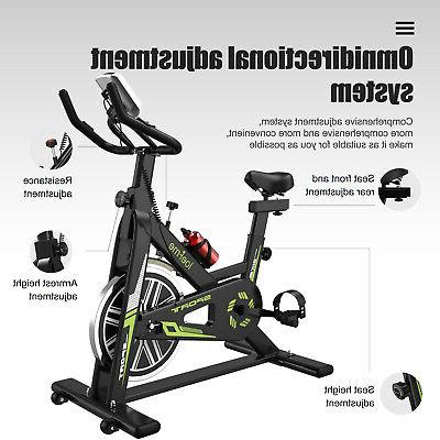 Exercise Bike Workout + LCD