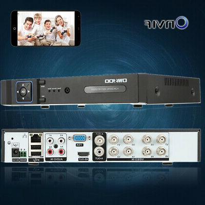 OWSOO 8Channel AHD NVR for Surveillance System P4H0
