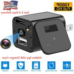 Full HD1080P Mini Hidden Spy Camera Motion Detection Securit