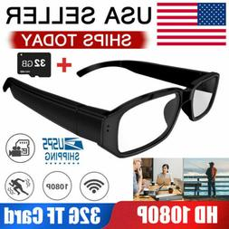 Mini HD 1080P Spy Glasses Hidden Eyewear Camera Video Record
