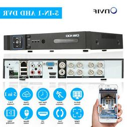 OWSOO 8CH Onvif 1080P NVR AHD DVR 5in1 Security Video Record