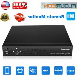 Security Cloud DVR 8CH Channel 1080p HDMI H.264 Recorder for