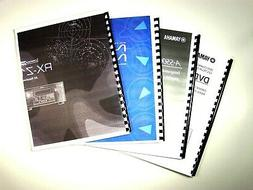 Yamaha DVR-S150 DVD Recorder Owners Manual